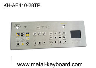 clavier metal industriel