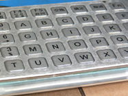 Anti Vandal Rear Panel Mount Keyboard Industrial , Kiosk Keyboard USB interface in 45 Keys