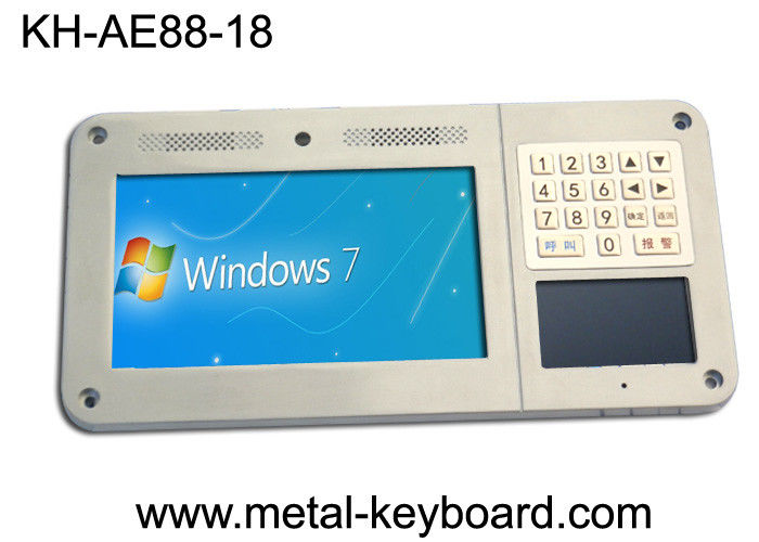 Ruggedized metal keyboard with 18 keys use for Industrial Entry Machine