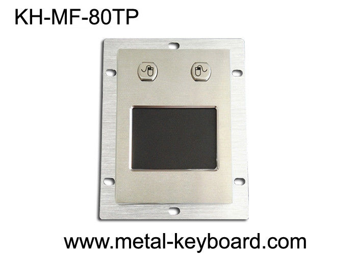 Dustproof Industrial Panel Mount Trackball SS Material For Accuact Pointing Device